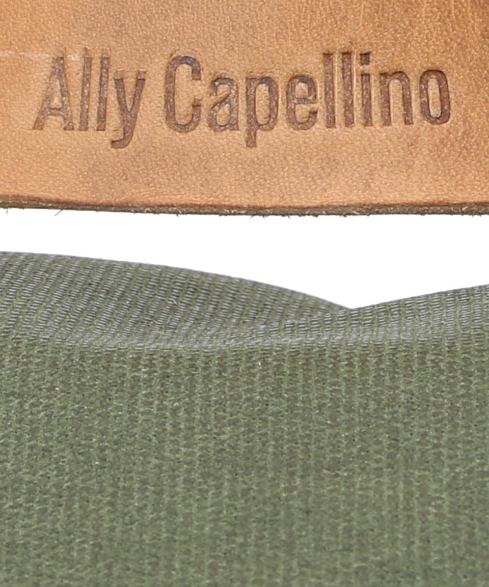 Ally Capellino Green Kelvin Backpack for Men