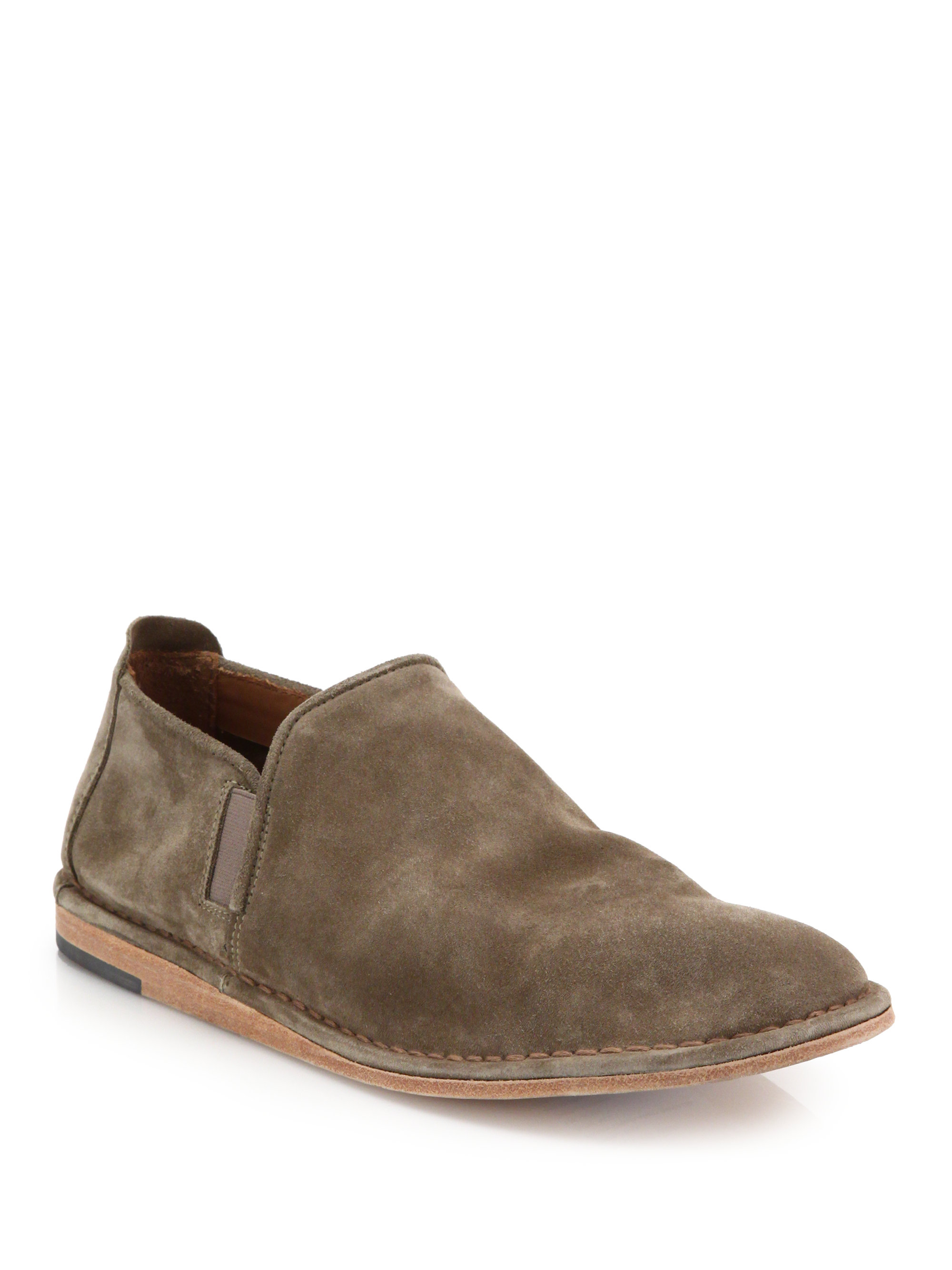 vince nico suede skate shoes in brown for lyst