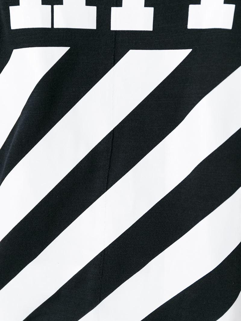 off white c  o virgil abloh logo printed t shirt in black Life Is Gucci Logo Gucci Logo Clip Art