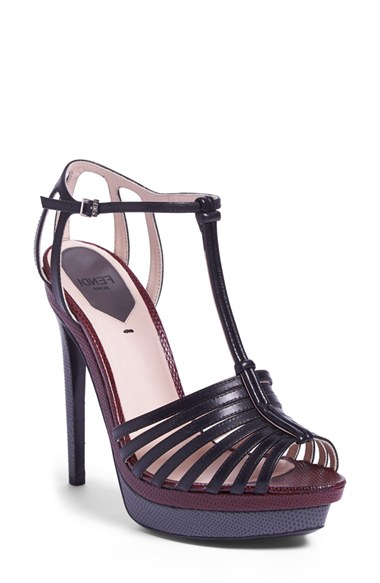 Fendi T-bar platform sandals cheap sale clearance best for sale enjoy shopping sale release dates cheap sale fashion Style 7LL98DnE6