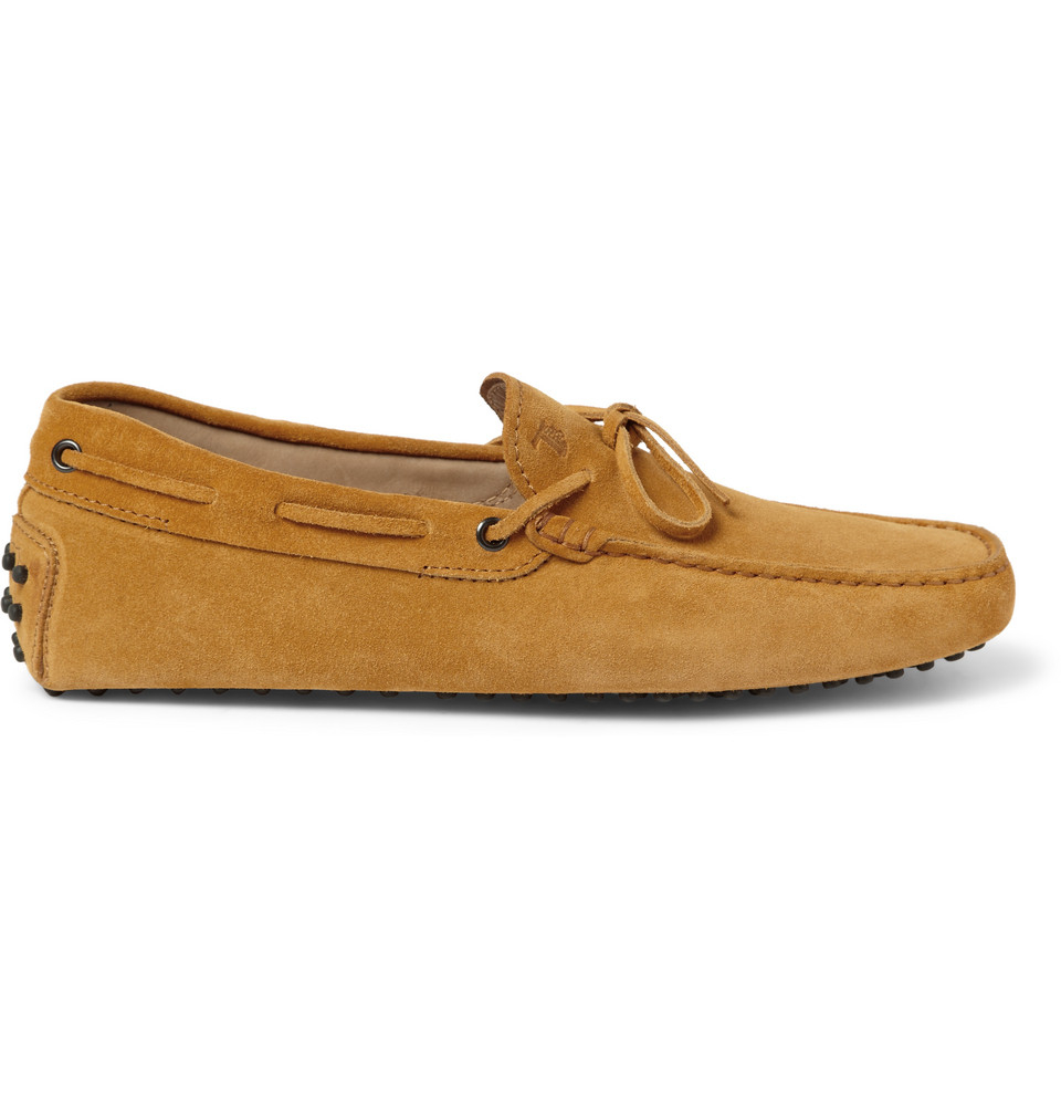 Tod S Gommino Suede Driving Shoes