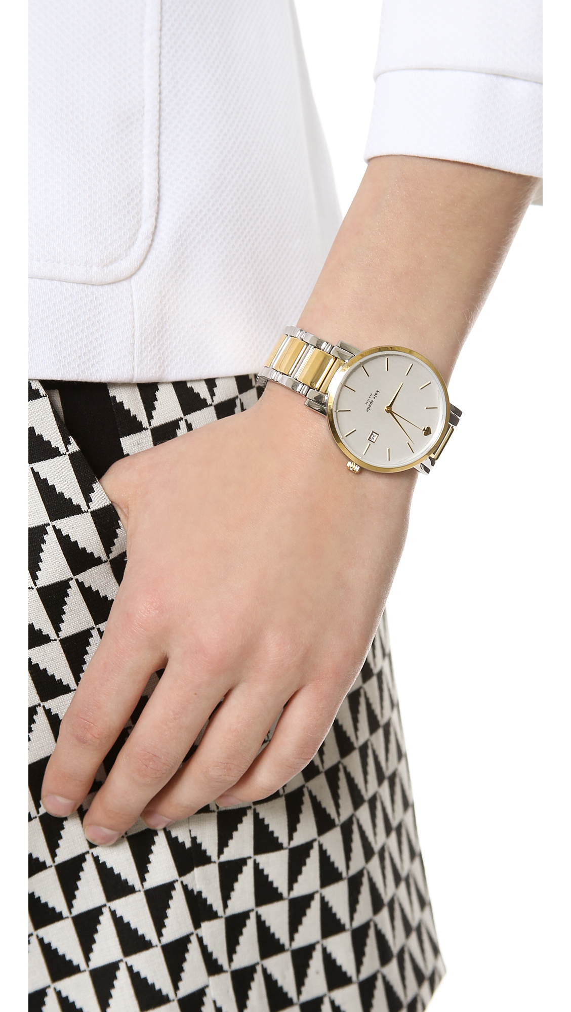 Gramercy Grand Watch Two Tone Gold