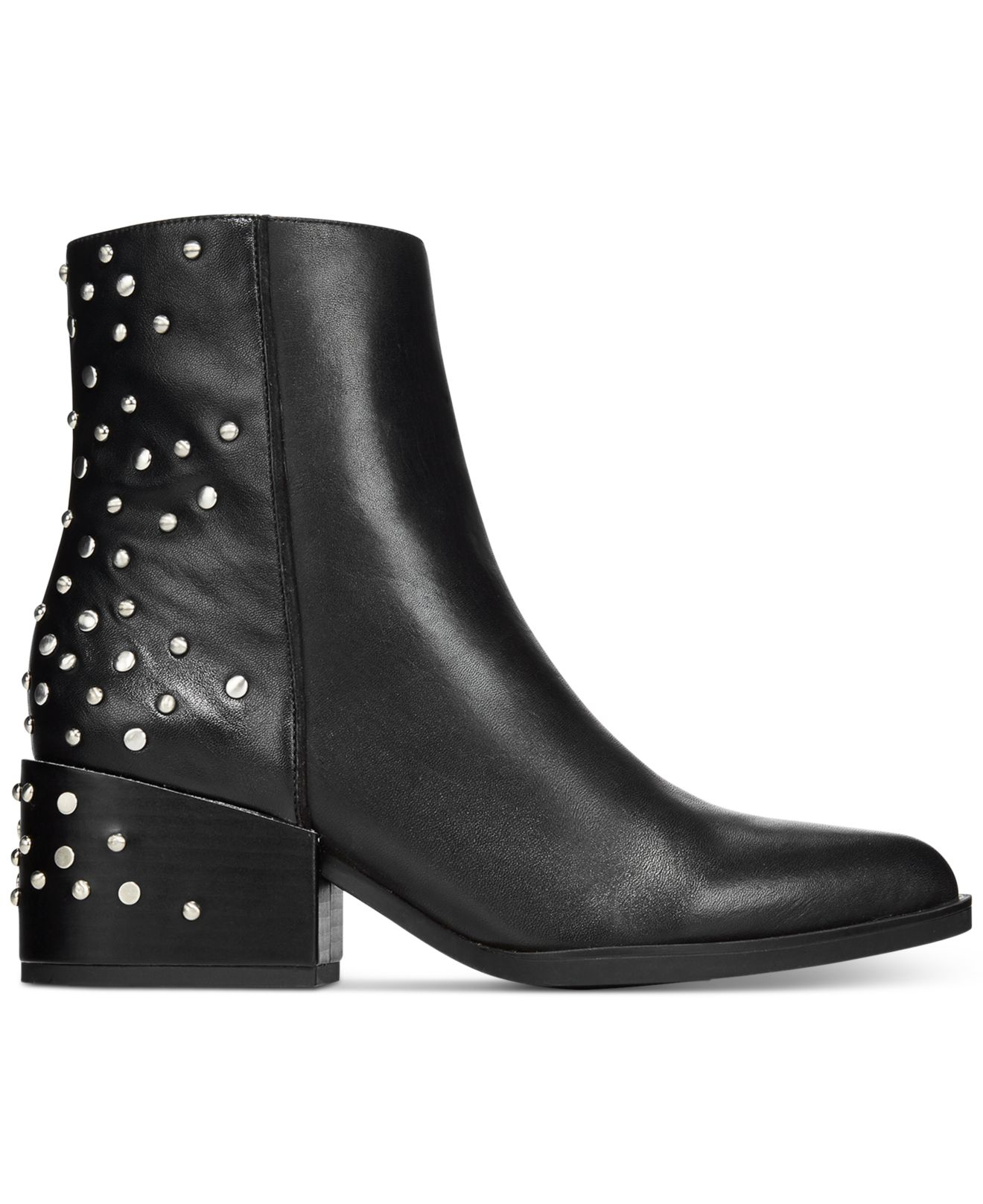 e908df4d2c4c0 Lyst - Circus by Sam Edelman Rae Studded Booties in Black