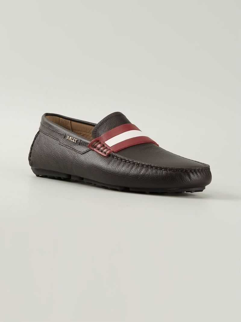 Pearce loafers - Brown Bally Outlet Store Cheap Price Clearance Ebay For Sale Online Clearance Low Cost Outlet Eastbay V6FY71PtAQ