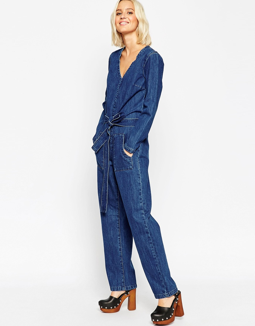 Asos Denim Jumpsuit | Fashion Ql