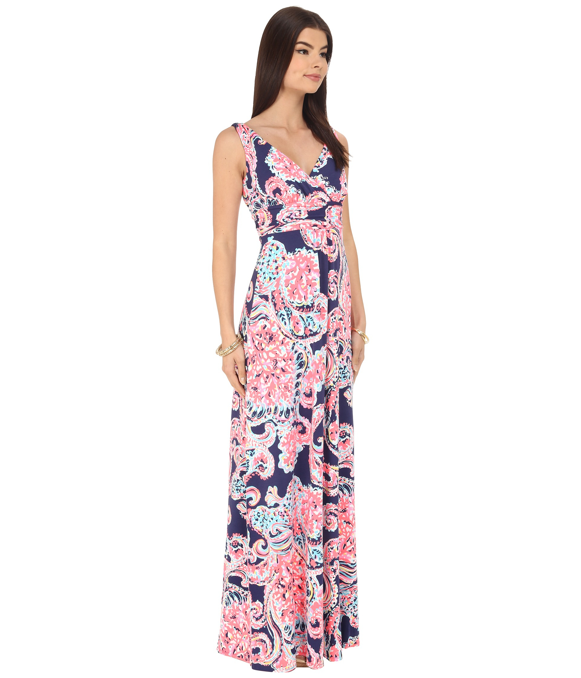 Lyst Lilly Pulitzer Sloane Maxi Dress