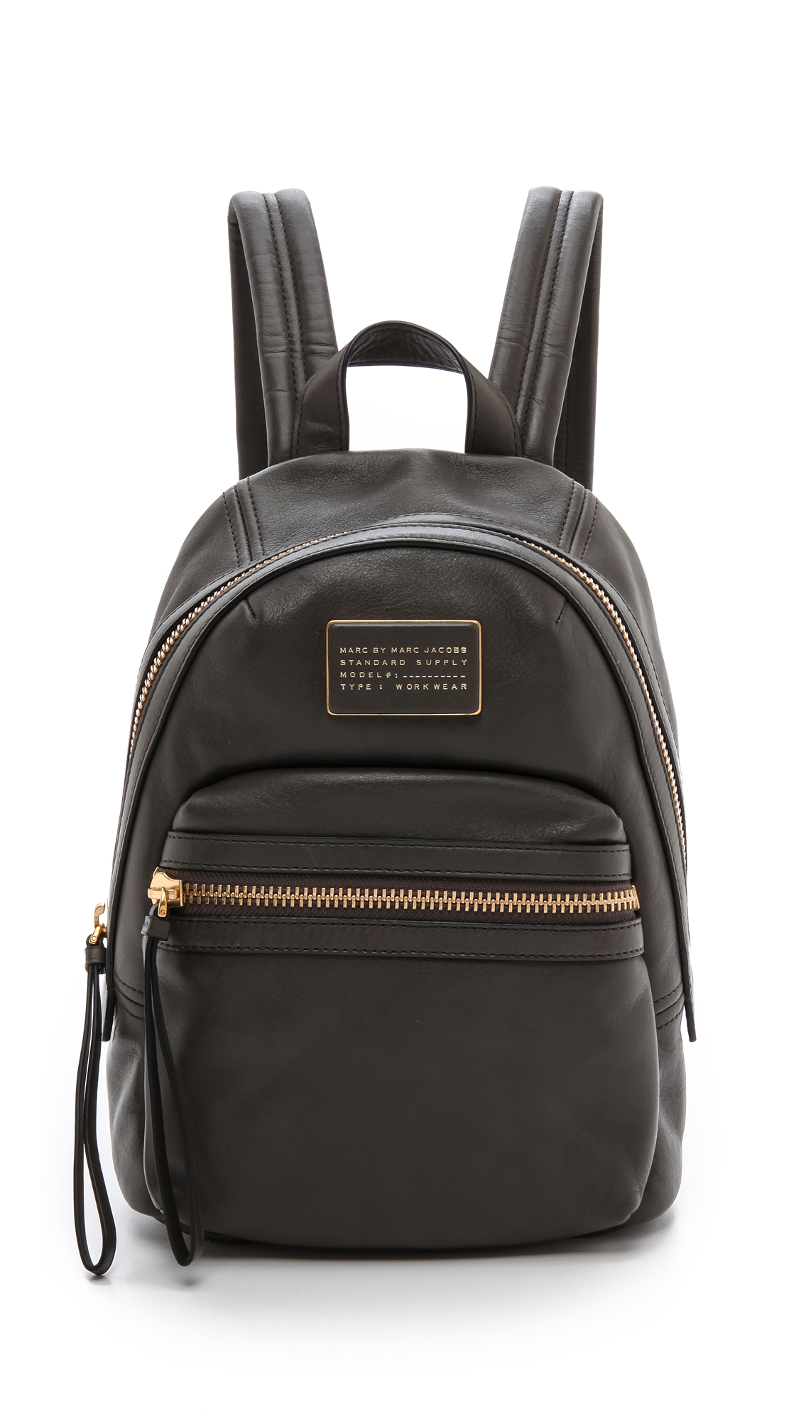 marc by marc jacobs third rail backpack dry martini in black dry martini lyst. Black Bedroom Furniture Sets. Home Design Ideas