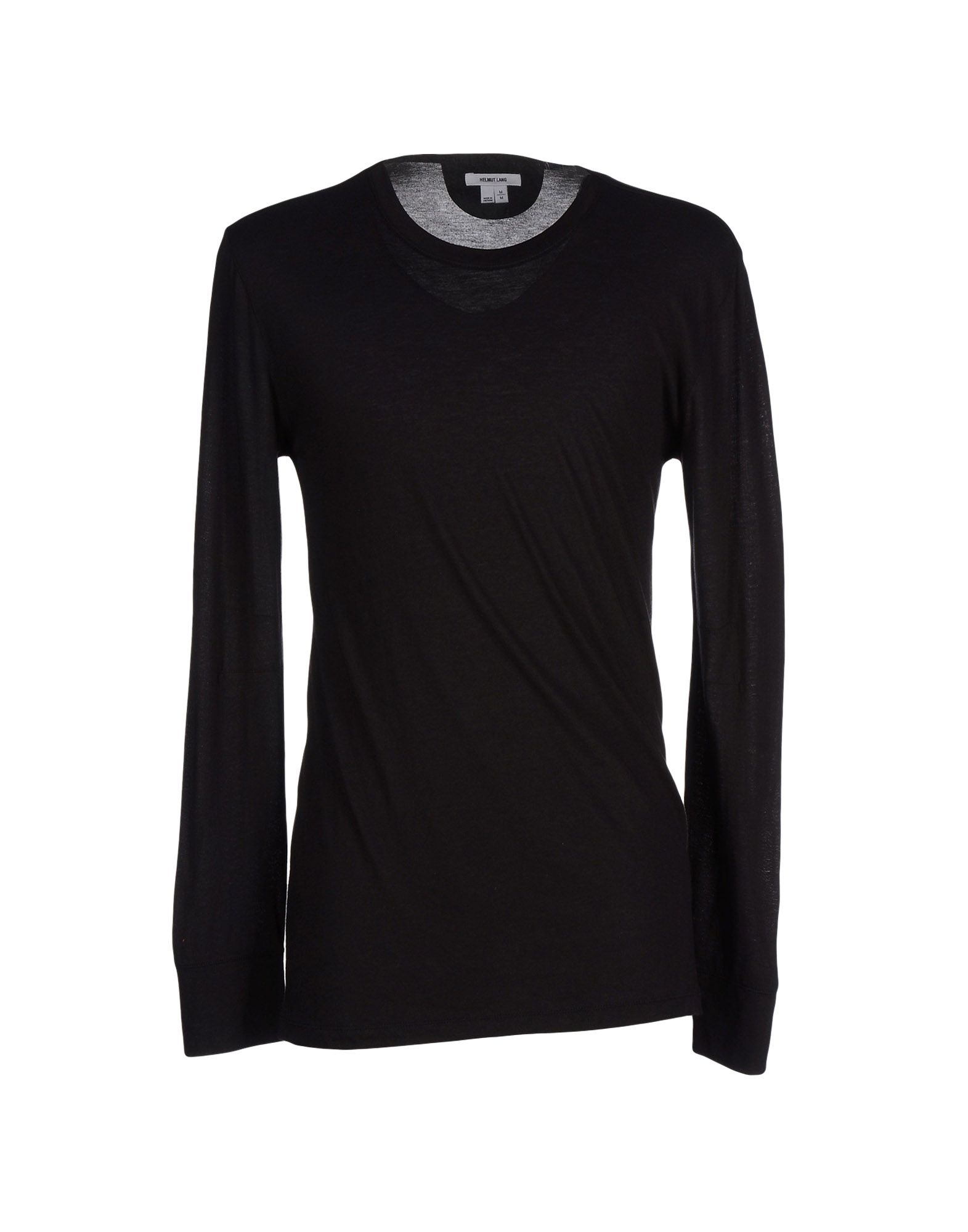 Lyst helmut lang t shirt in black for men for Helmut lang tee shirts