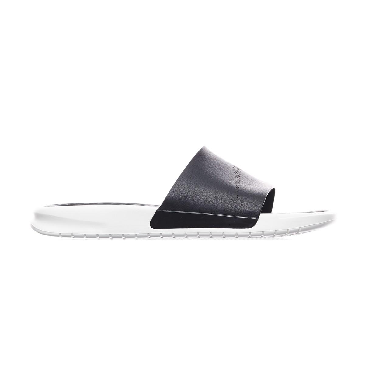460e09602 Nike Benassi Lux Slides Qs in White for Men - Lyst