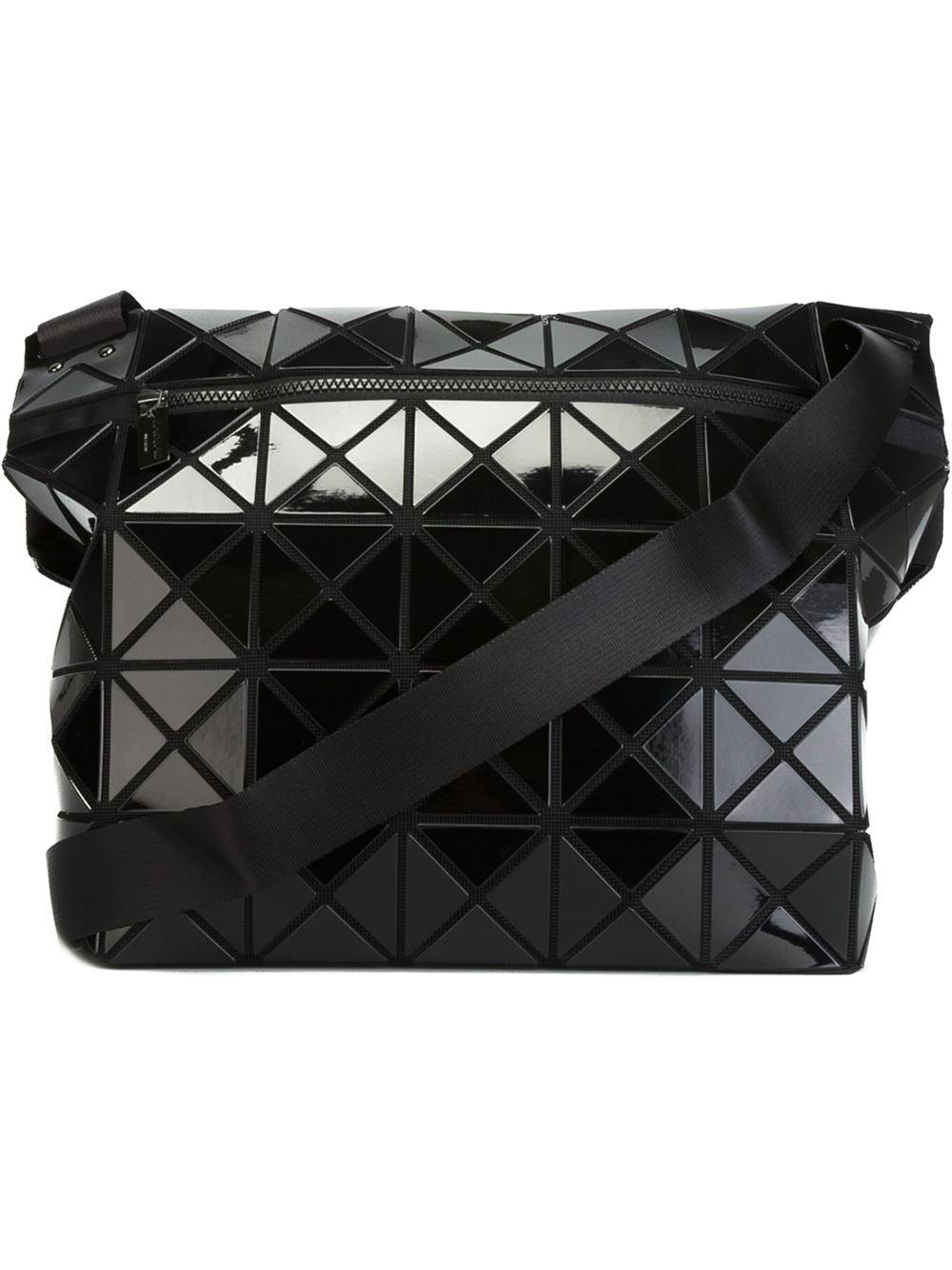 b128cab7b0 Lyst - Bao Bao Issey Miyake  rock Basic  Shoulder Bag in Black