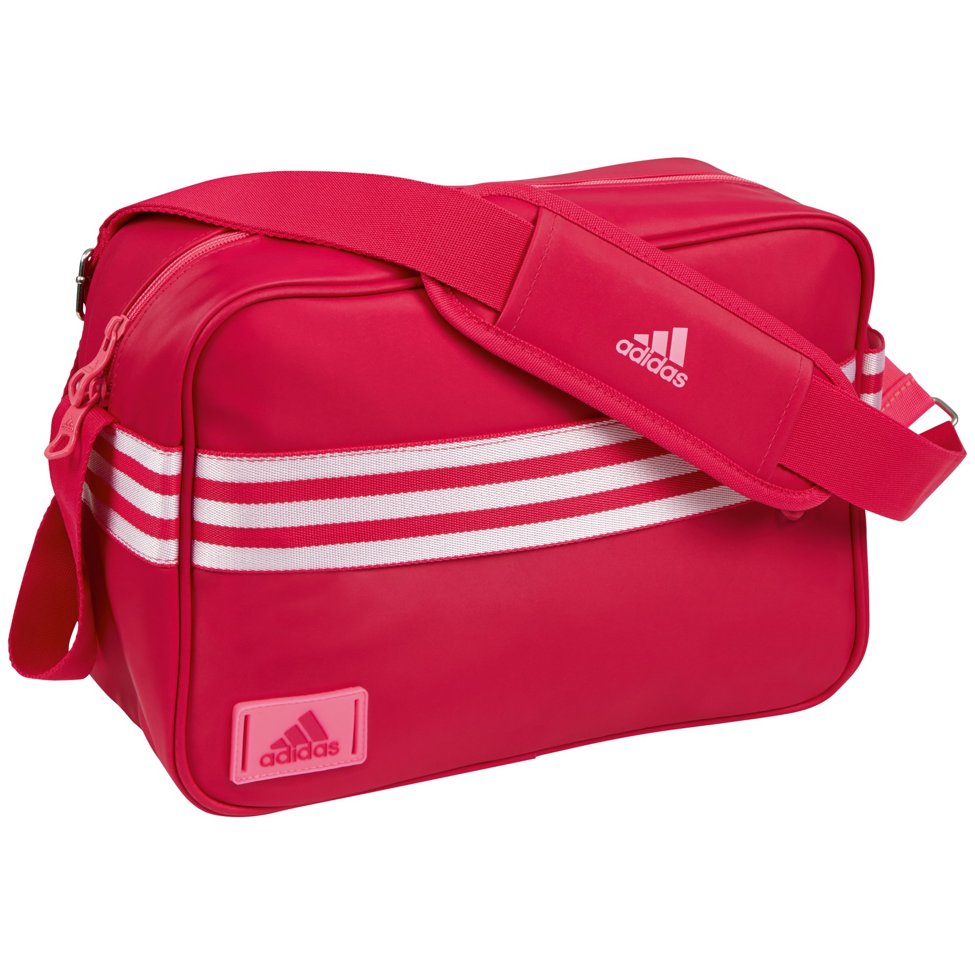 adidas Enamel Messenger Bag in Pink for Men - Lyst 6c07739982