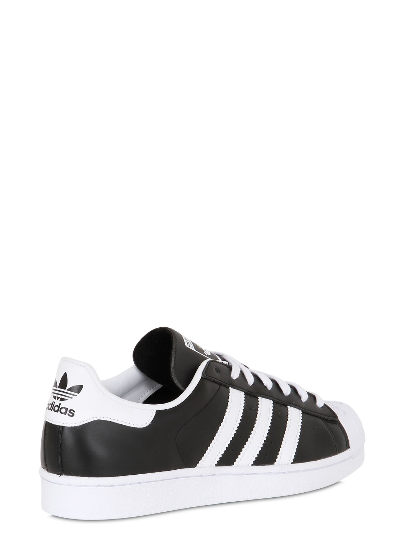 Rabatt Herren Adidas Superstar Nigo Bearfoot Schuhe Schwarz