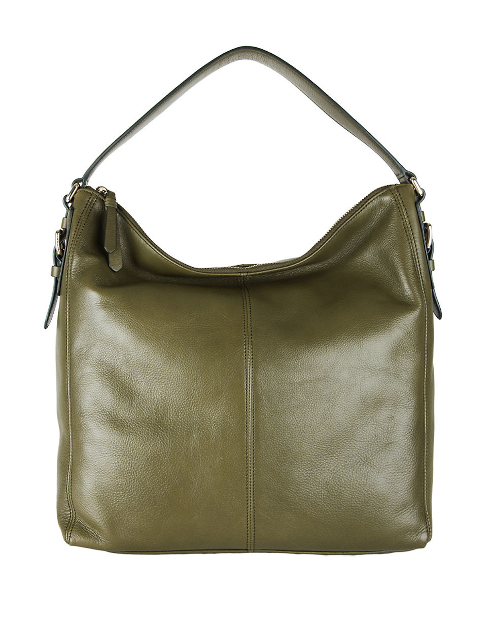 10259c3d446 Cole Haan Rockland Leather Hobo Bag in Green - Lyst