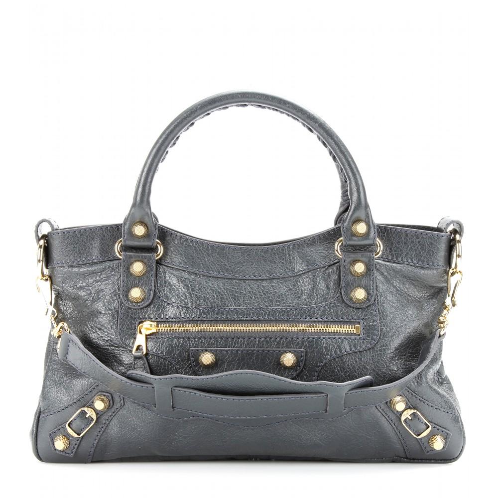 f1a58c5a10c Balenciaga Giant 12 First Shoulder Bag in Gray - Lyst