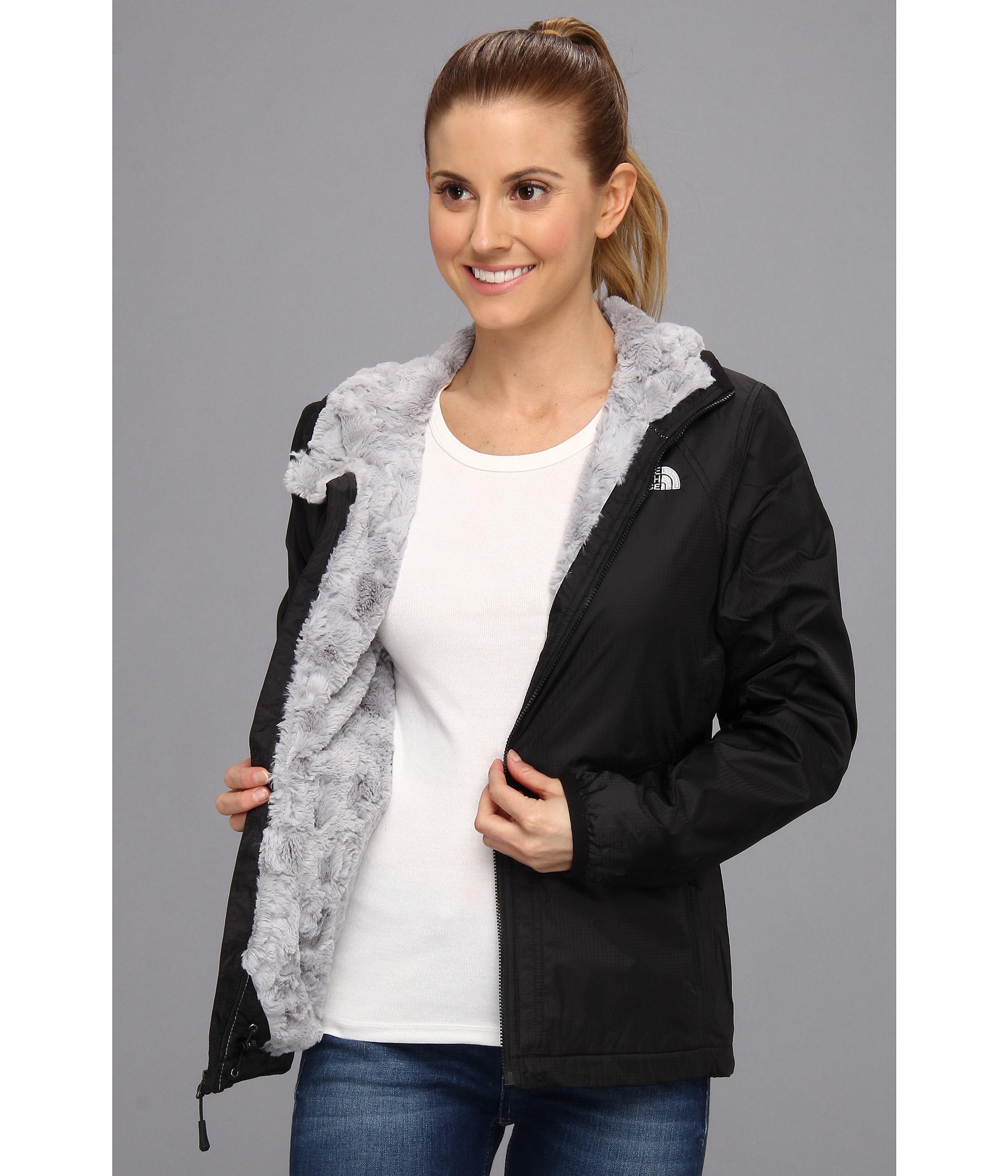 dd5bb4ba9 The North Face Black Pitaya Swirl Jacket