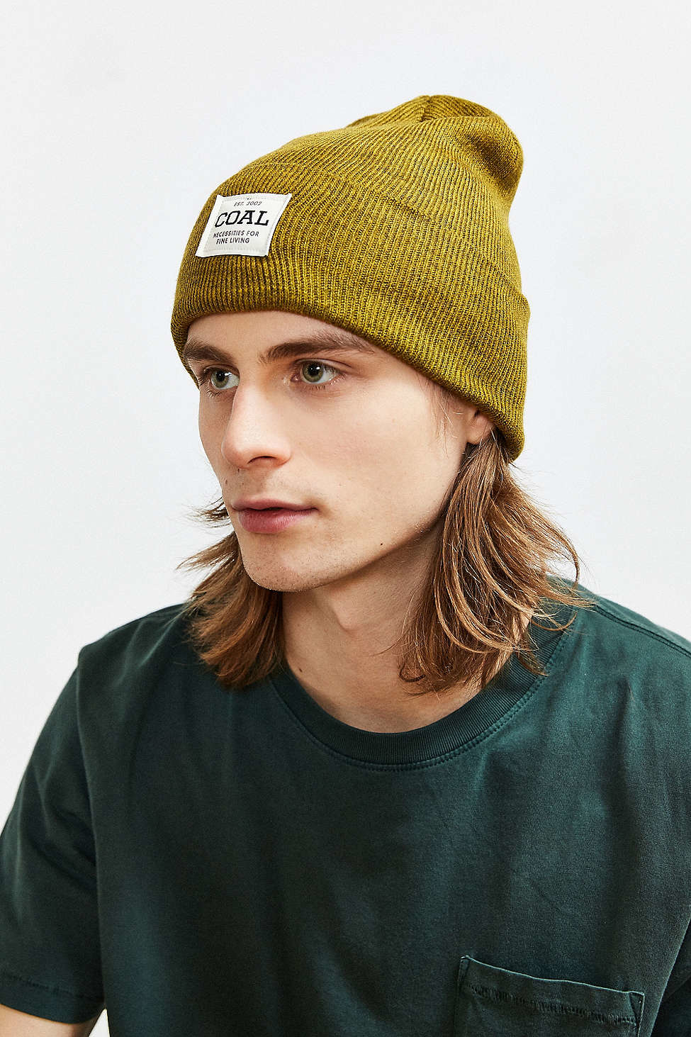 Lyst - Coal The Uniform Beanie in Yellow for Men e7938a0ee56d