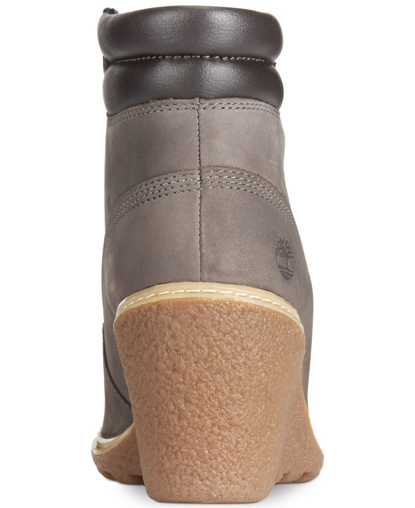 Timberland Womens Earthkeepers Amston Wedge Booties In -6389