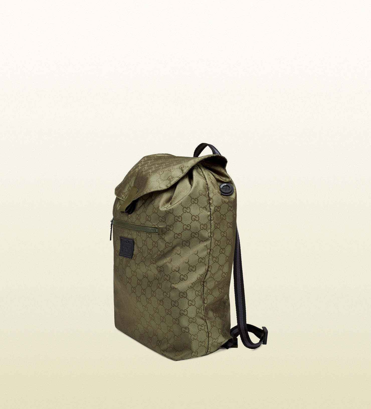 Gucci Gg Nylon Backpack From The Viaggio Collection in Green for Men ... 2ac01e645d53f
