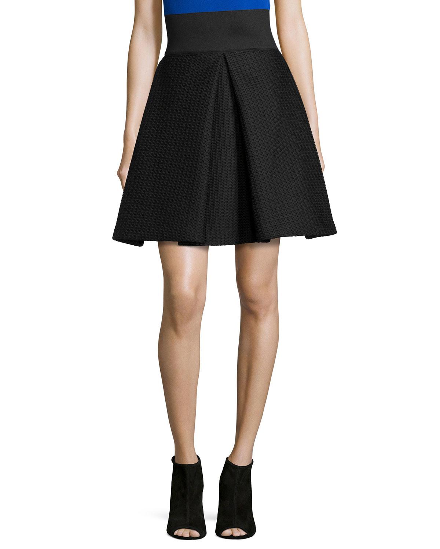 Black Bubble Skirt - Teen Bikini Amateur-3984