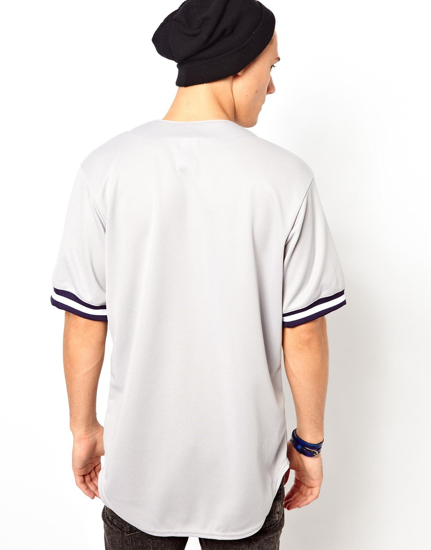 premium selection ff674 a4273 Majestic Gray Ny Yankees Baseball Jersey for men