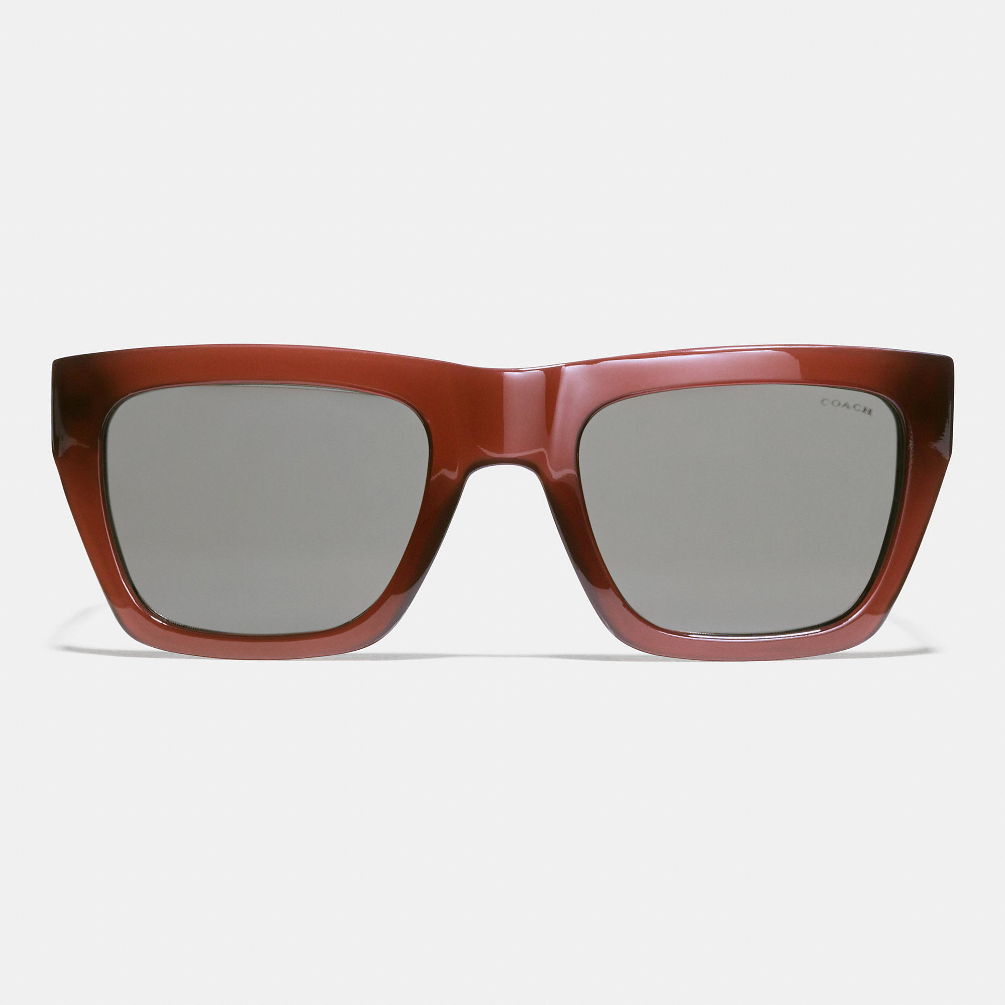 167558fc62 ... best price lyst coach commander sunglasses in red for men ac850 1215b