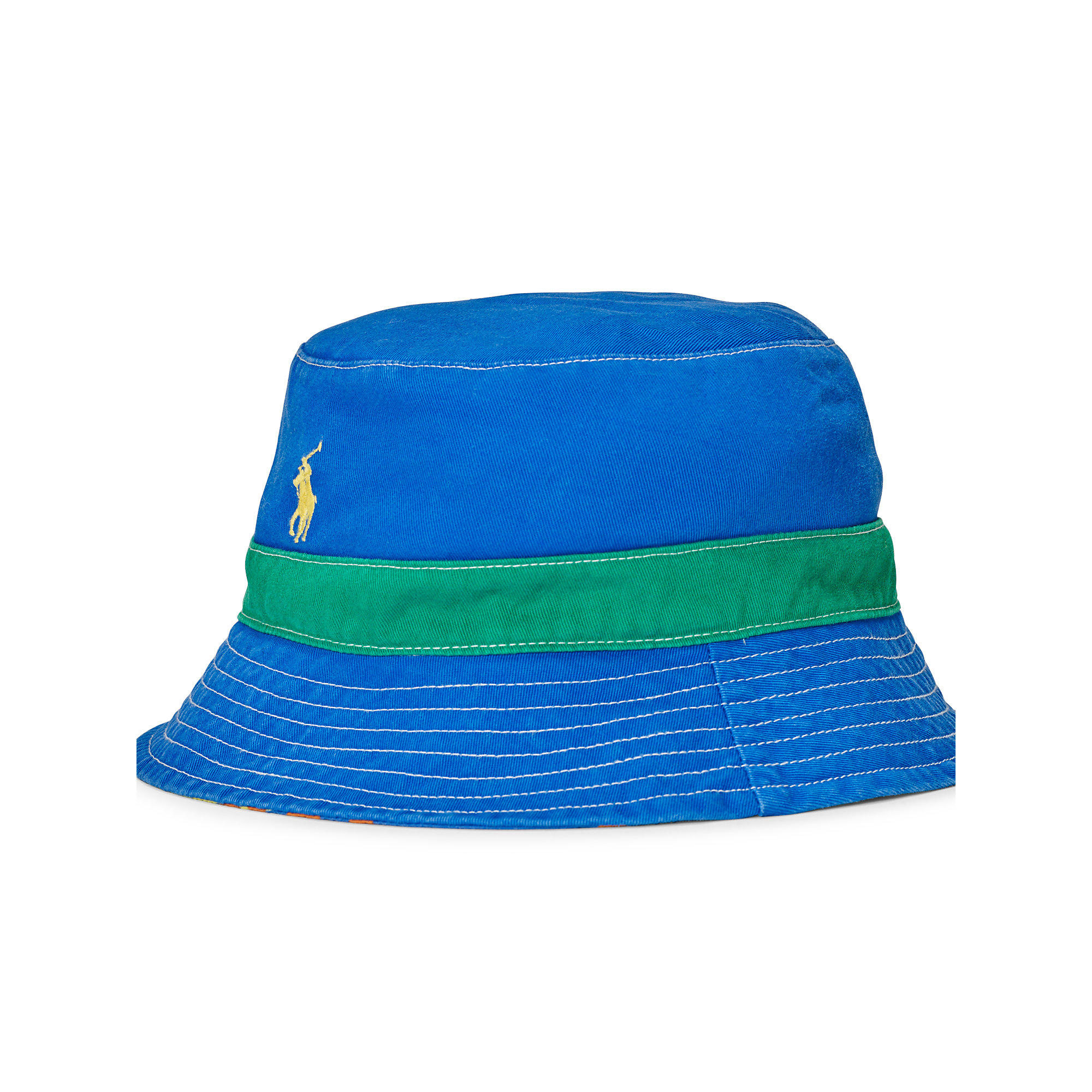 f214200b12e ... canada lyst polo ralph lauren reversible twill bucket hat for men 0d1f7  668f3