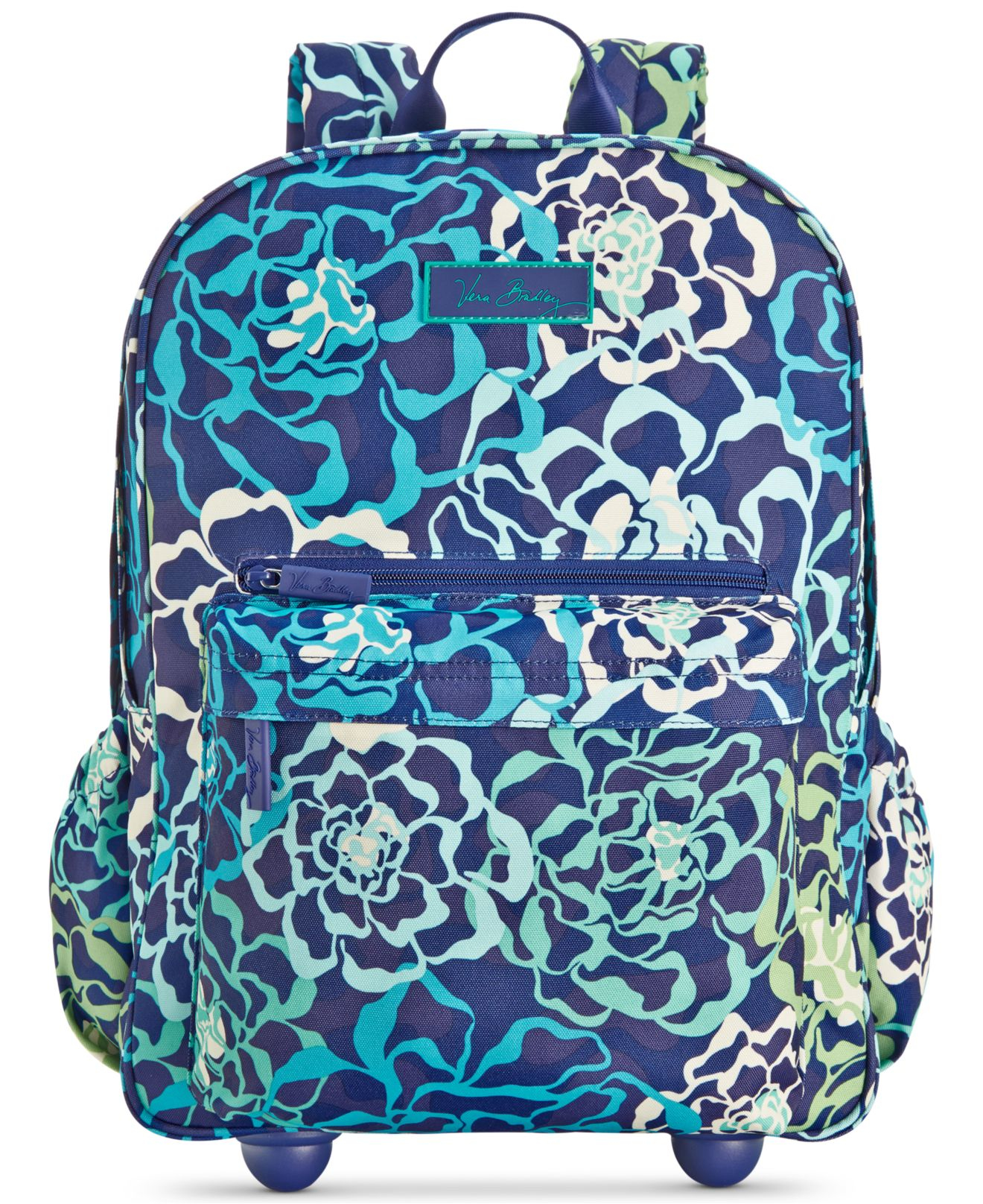Blue Rolling Backpacks - Crazy Backpacks