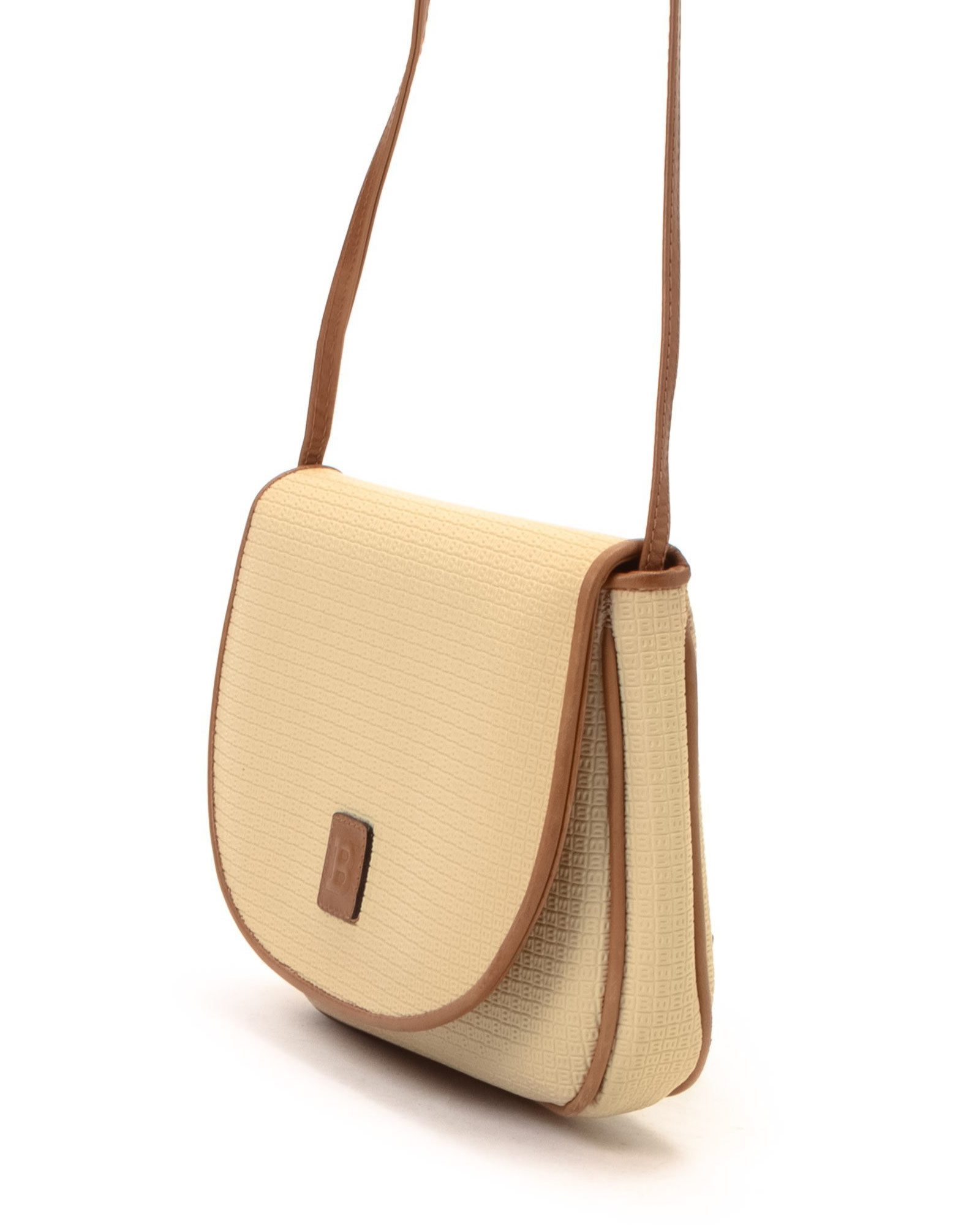0b7abbeec2cfb Bally Natural Shoulder Bag - Vintage