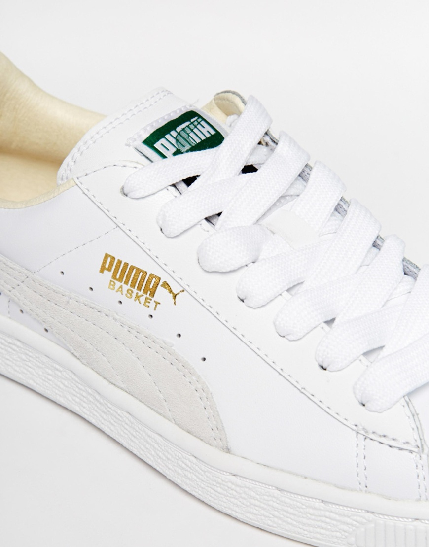 Puma BASKET CLASSIC - Trainers - white