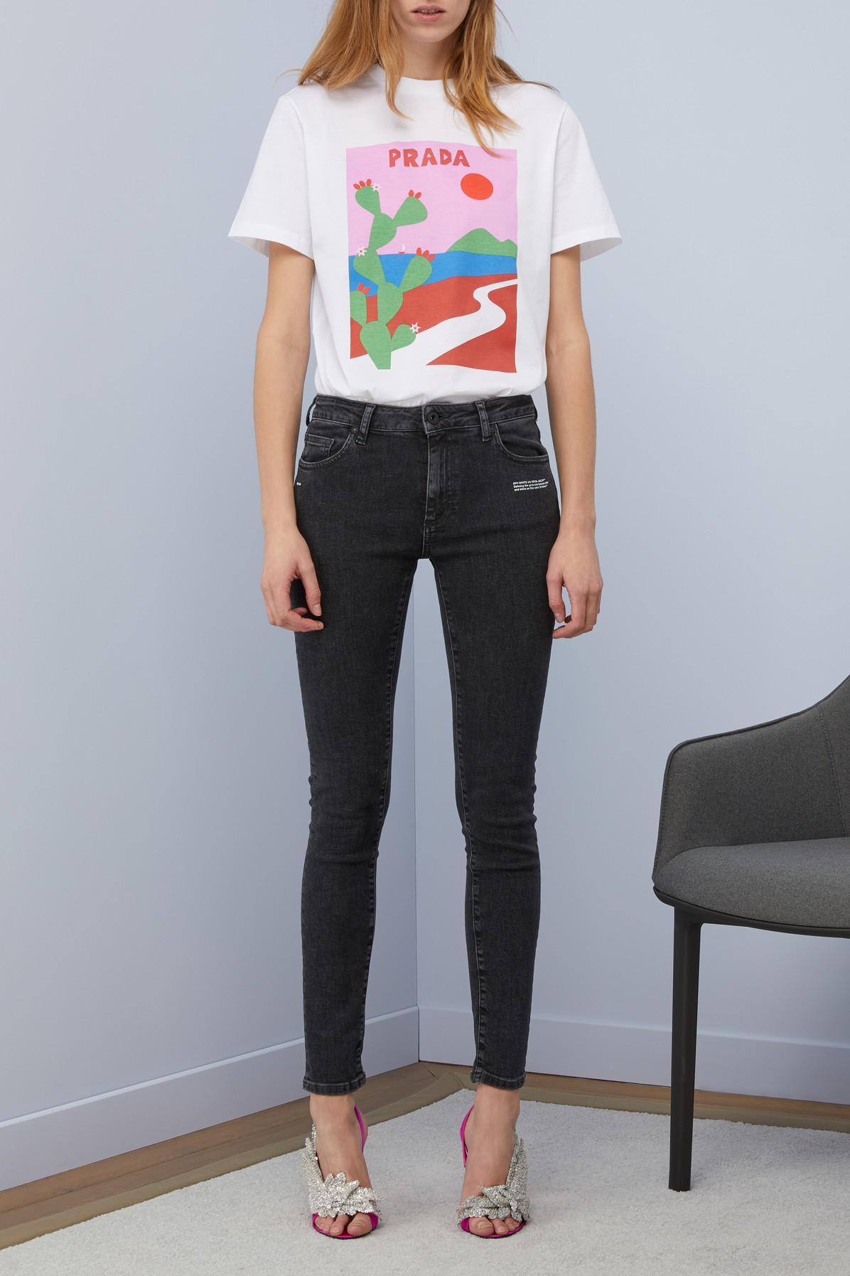 Off-White c/o Virgil Abloh Denim Skinny Jeans in Black