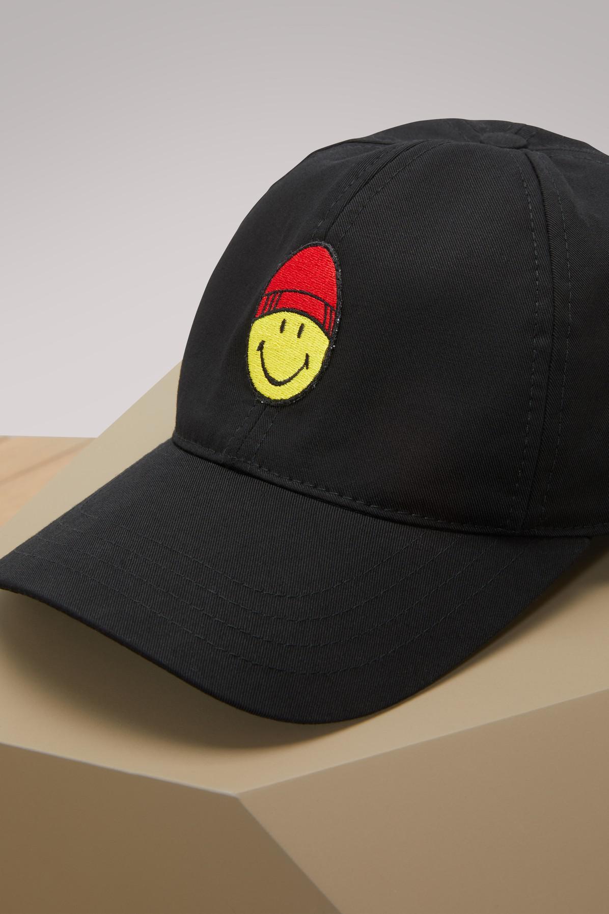 Smiley cotton cap Ami ejGw7