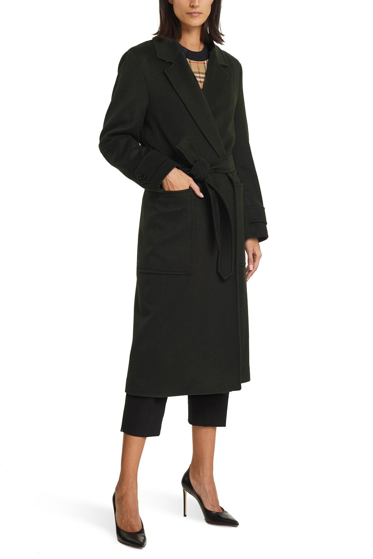 Manteau Sherringham Burberry en coloris Noir 8SEcm
