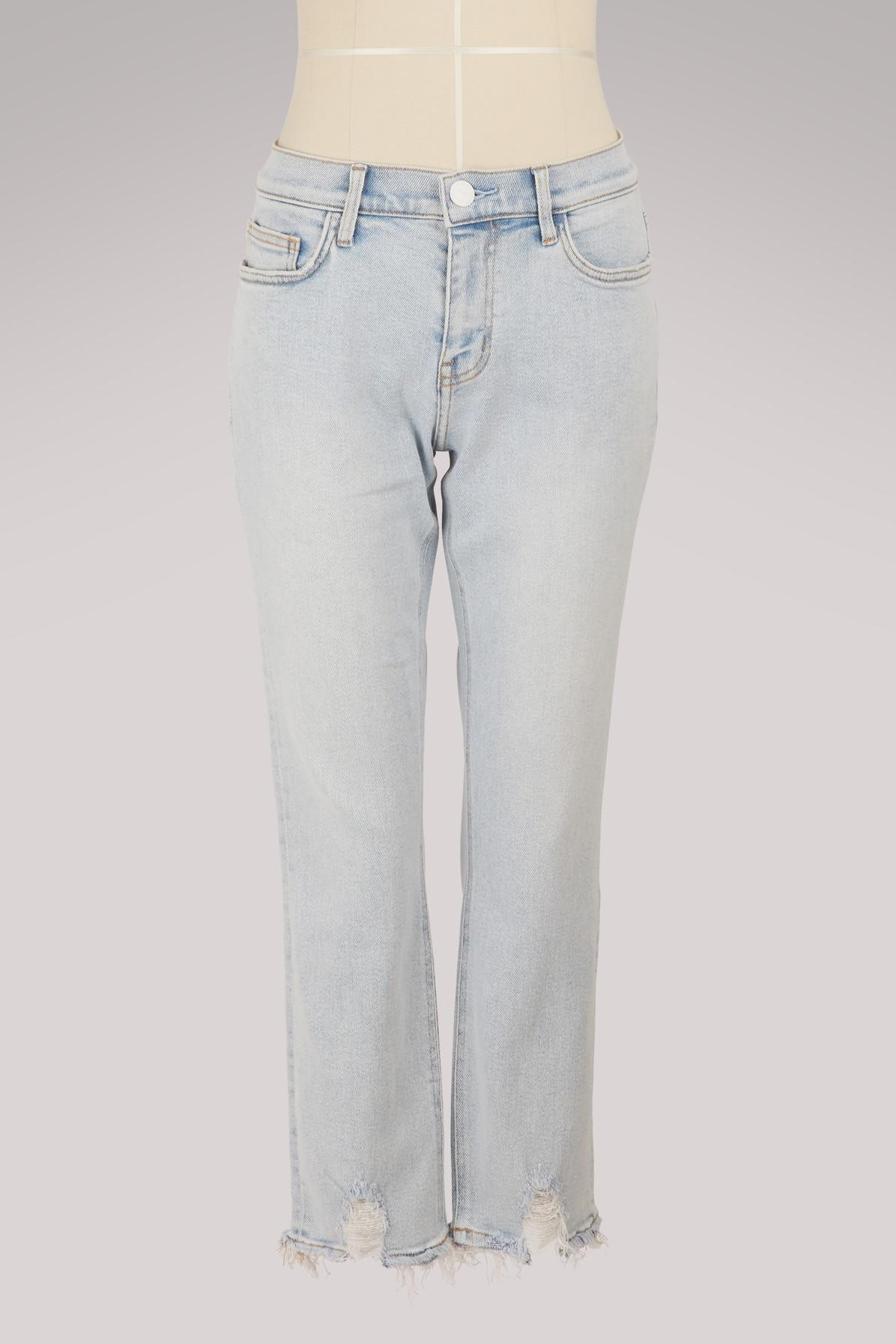 16df961b271 Current/Elliott. Women's The Cropped Straight Jeans