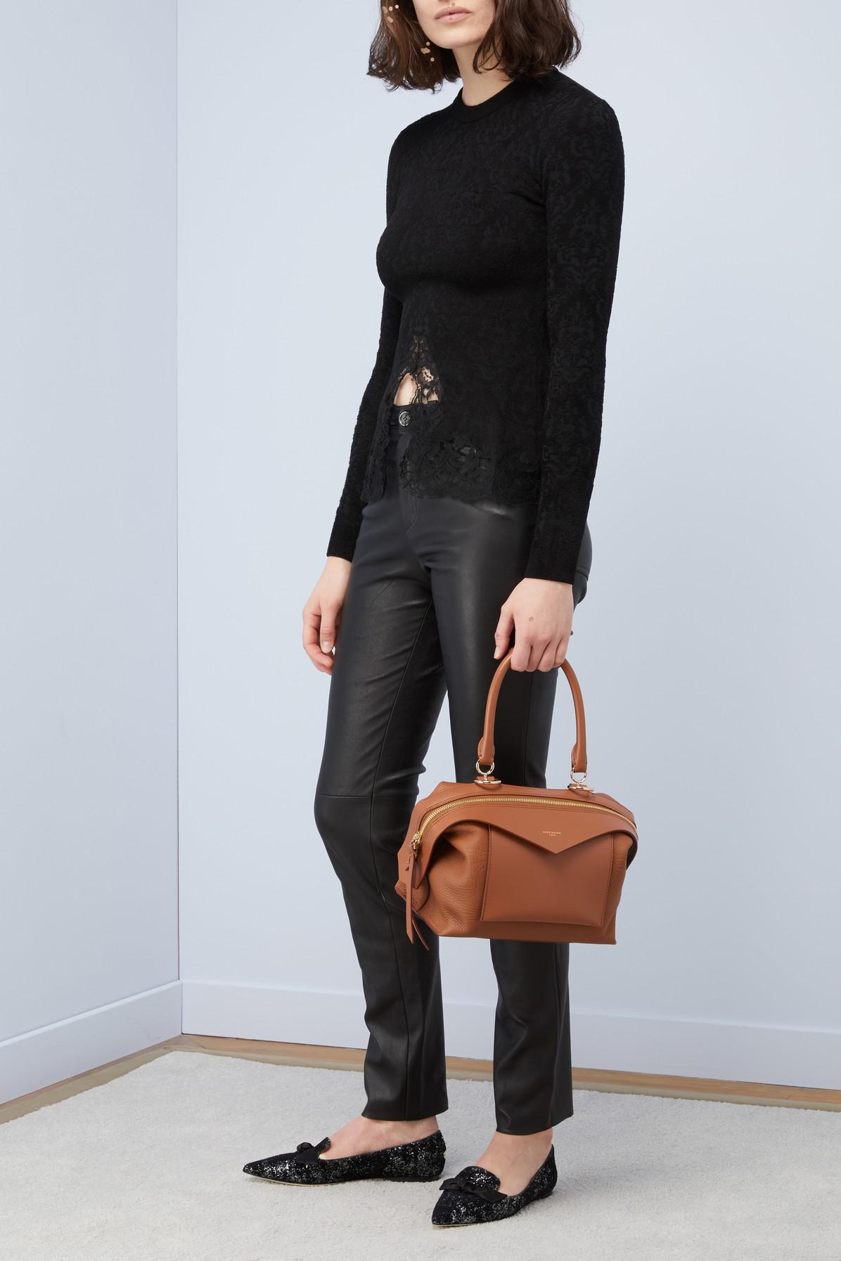 14ffa2bad7e3 Lyst - Givenchy Sway Small Shoulder Bag in Brown