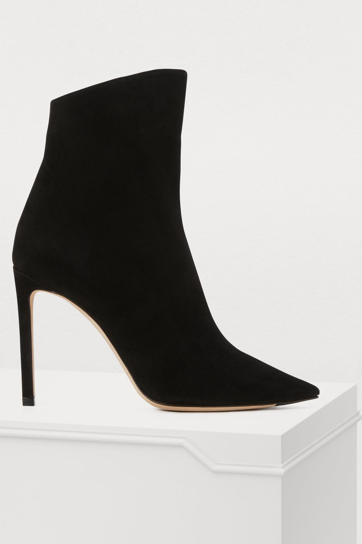 751aeaba5576 Lyst - Jimmy Choo Helaine 100 Ankle Boots in Black