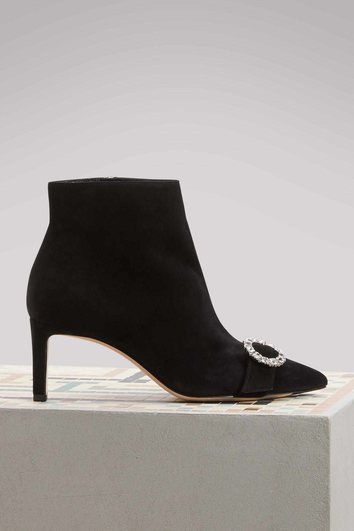8f8ee8736493 Jimmy Choo Hanover 65 Ankle Boots in Black - Lyst