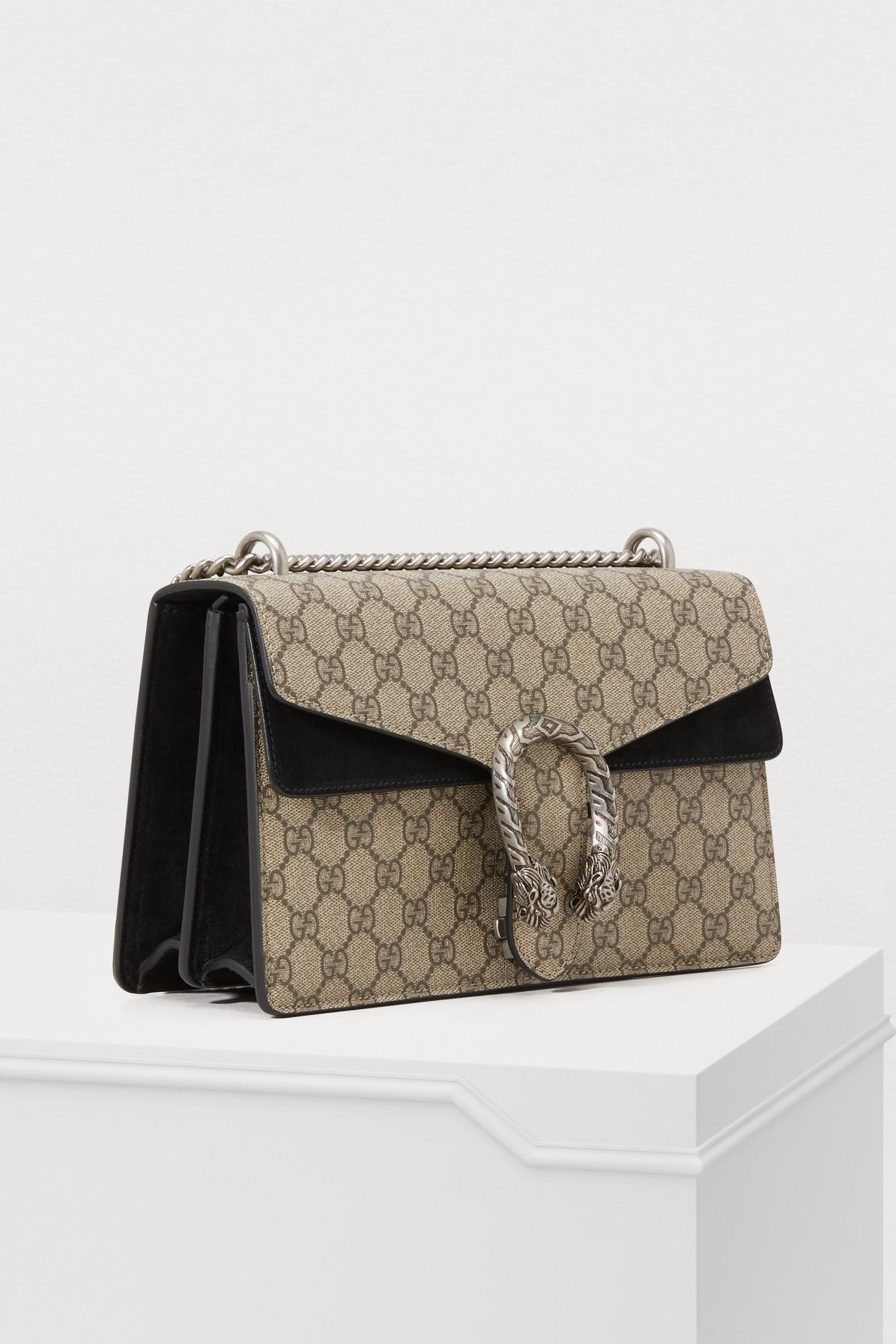 662a4207cafb Gucci - Multicolor Dionysus Gm Shoulder Bag - Lyst. View fullscreen