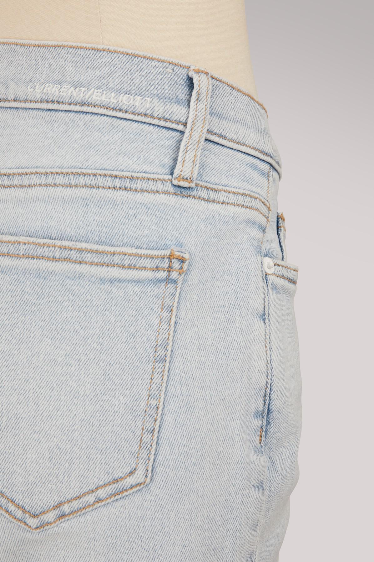 Current/Elliott Denim The Cropped Straight Jeans