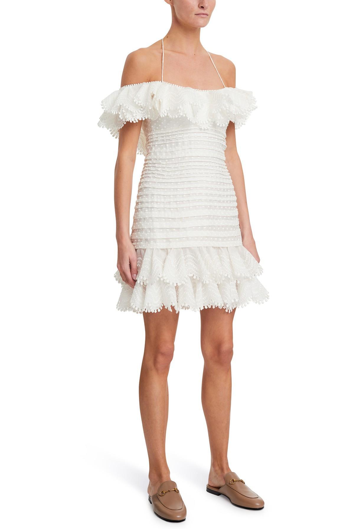 Robe courte Super Eight Zimmermann en coloris Blanc
