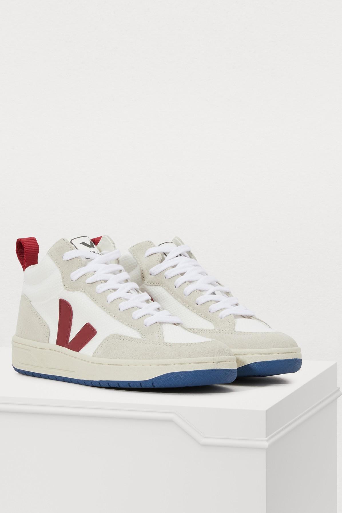 Veja Rubber Roraima B-mesh Sneakers in