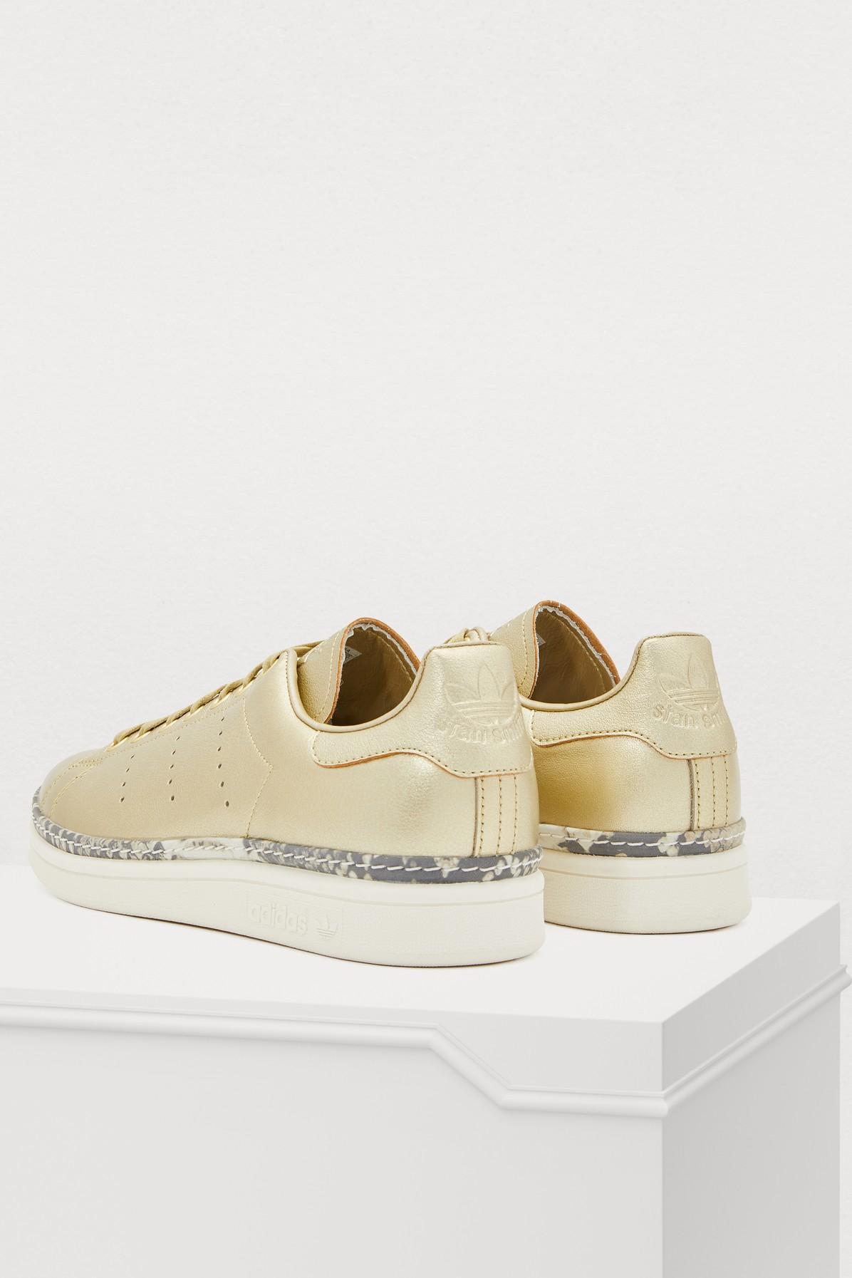 6546fb8b2c9 Adidas - Metallic Stan Smith New Bold Sneakers - Lyst. View fullscreen