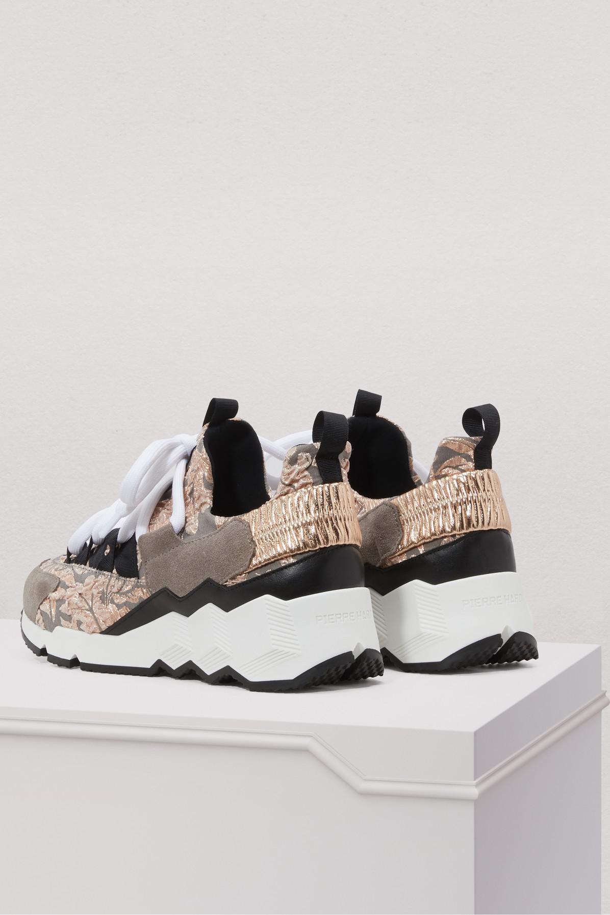 Pierre Hardy Trek Comet Brocade Sneakers