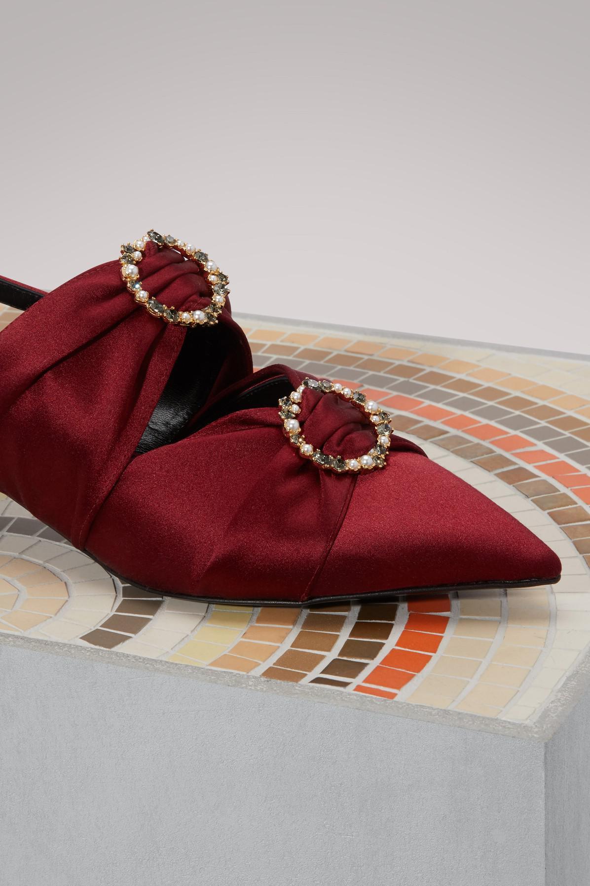 Chelsea satin sandals Erdem dSv34cw