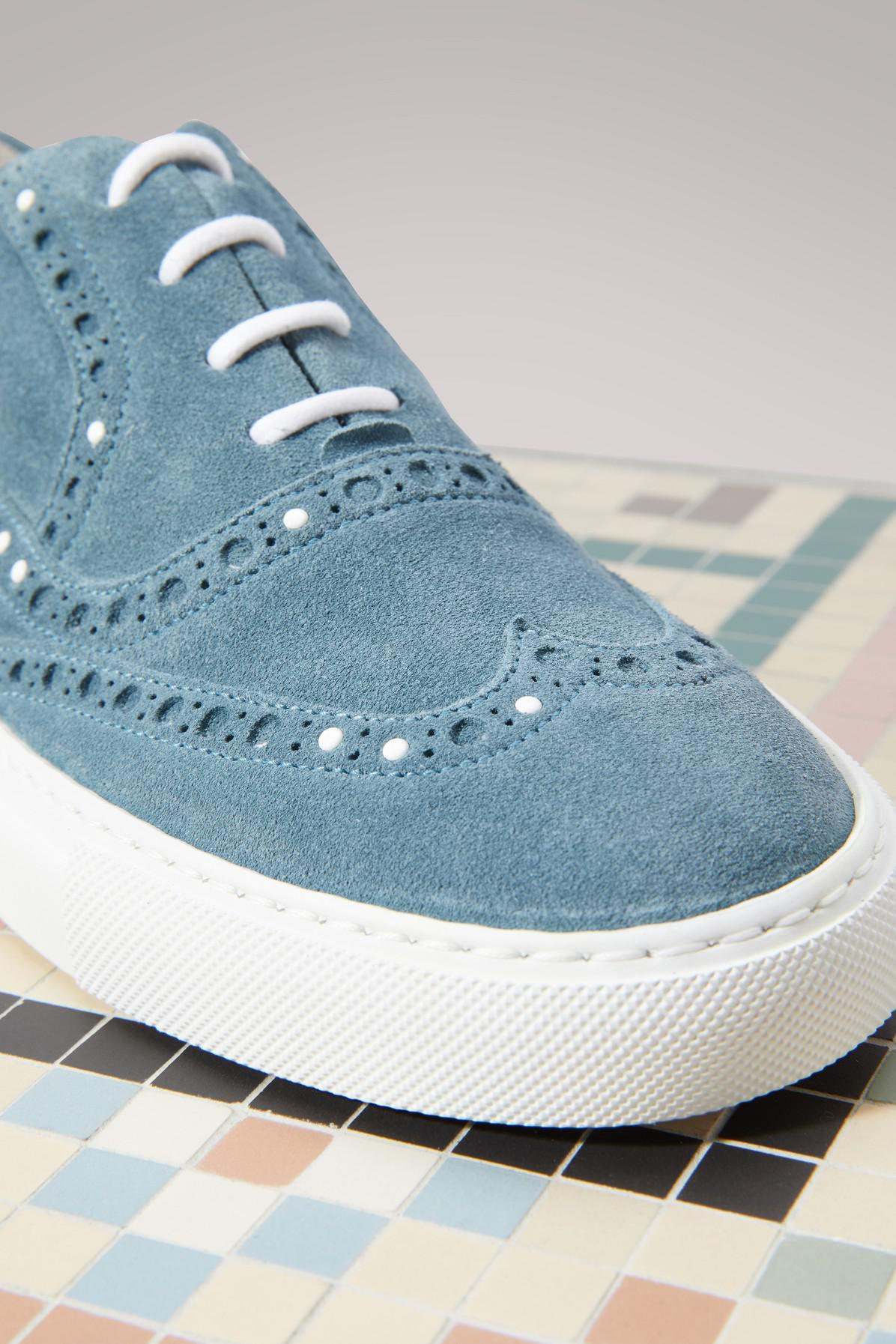 Cinereo suede sneakers Sartore VZMOaCEo