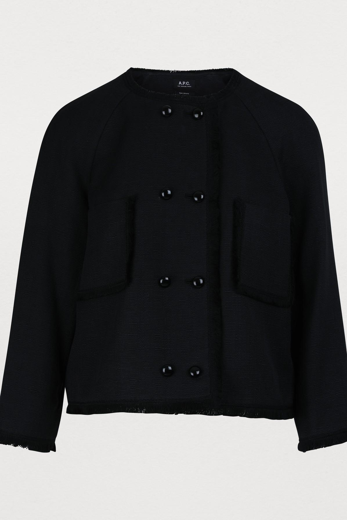 c1434c5e A.P.C. Fabiola Jacket in Black - Lyst