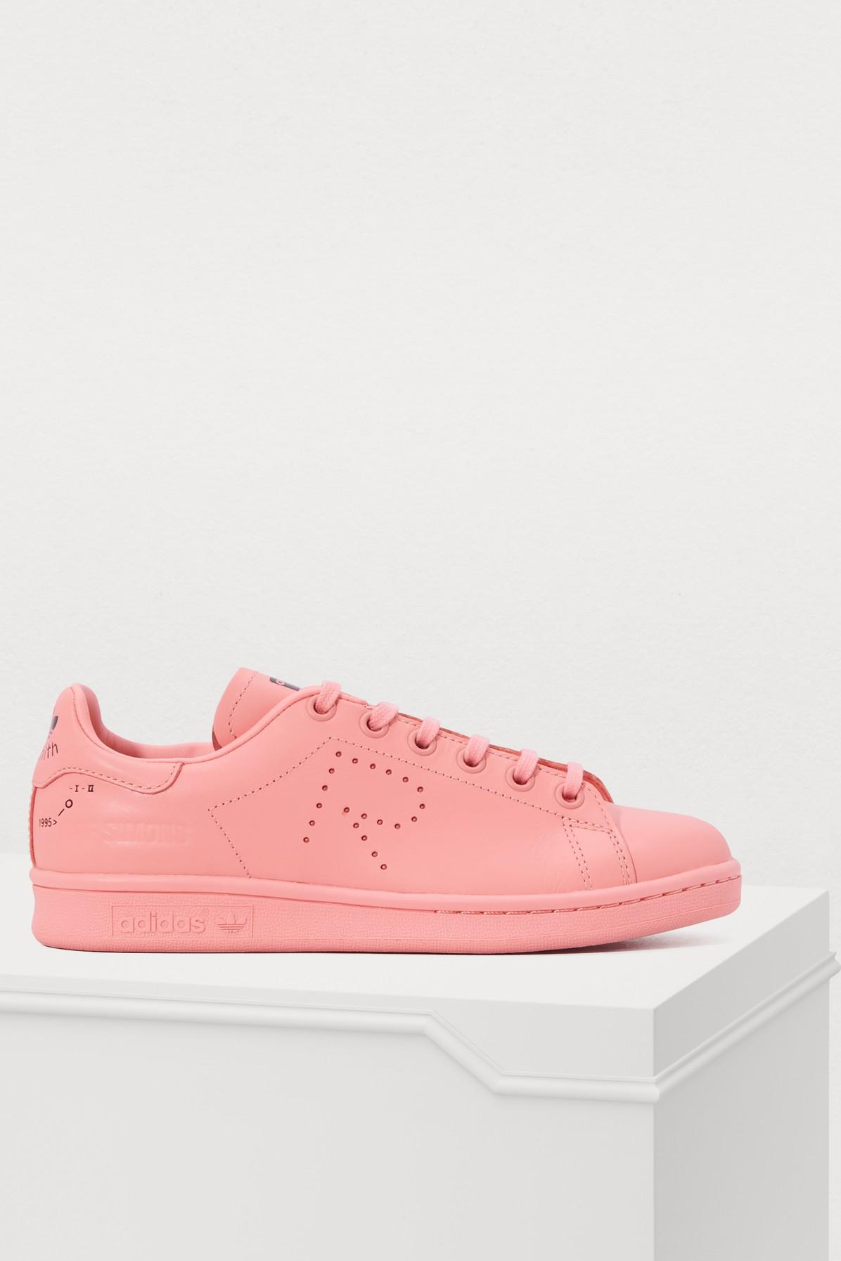 low priced a4d3a c1815 adidas By Raf Simons. Womens Pink Rs Stan Smith Sneakers