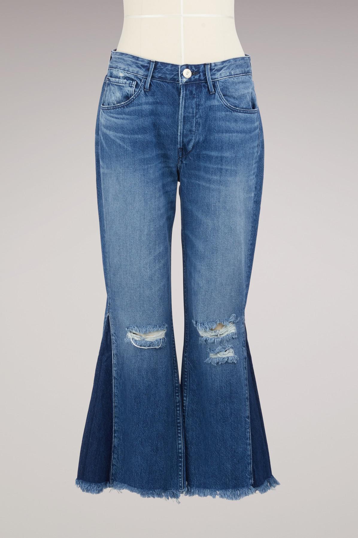W4 Higher Ground Gusset Crop jeans - Blue 3x1 lN3CNhE