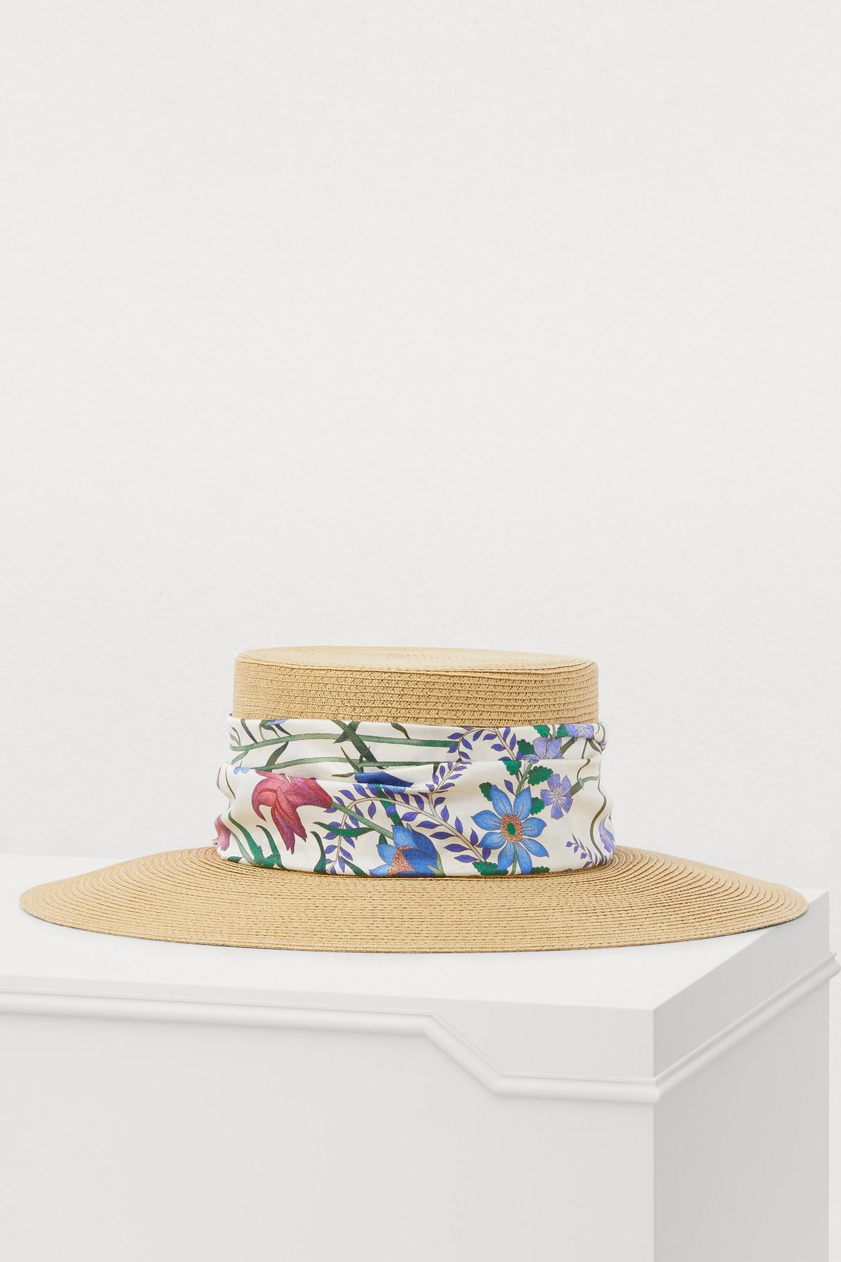 b5d4dadff23 Gucci. Women s White Flora Hat. £265 From 24 Sèvres