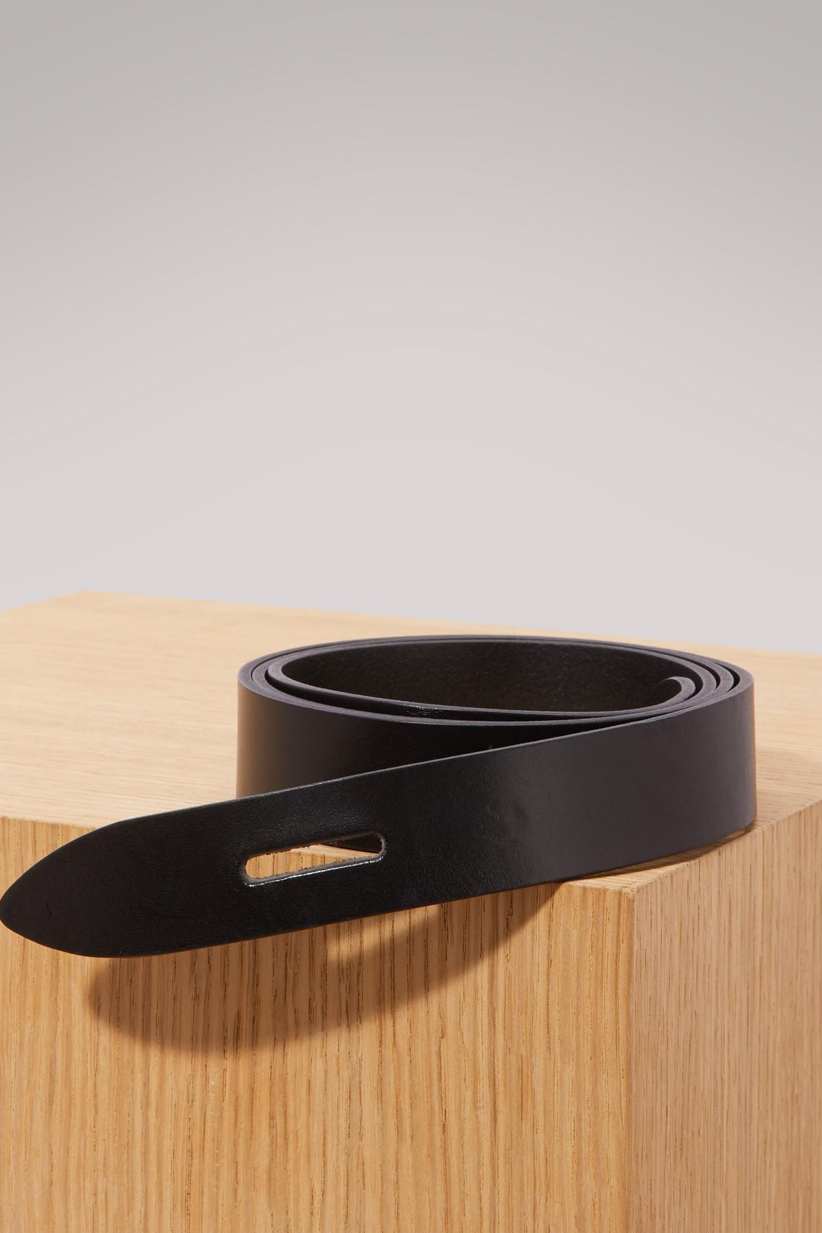 8daf755b1472 Isabel Marant Leather Lecce Belt in Black - Lyst