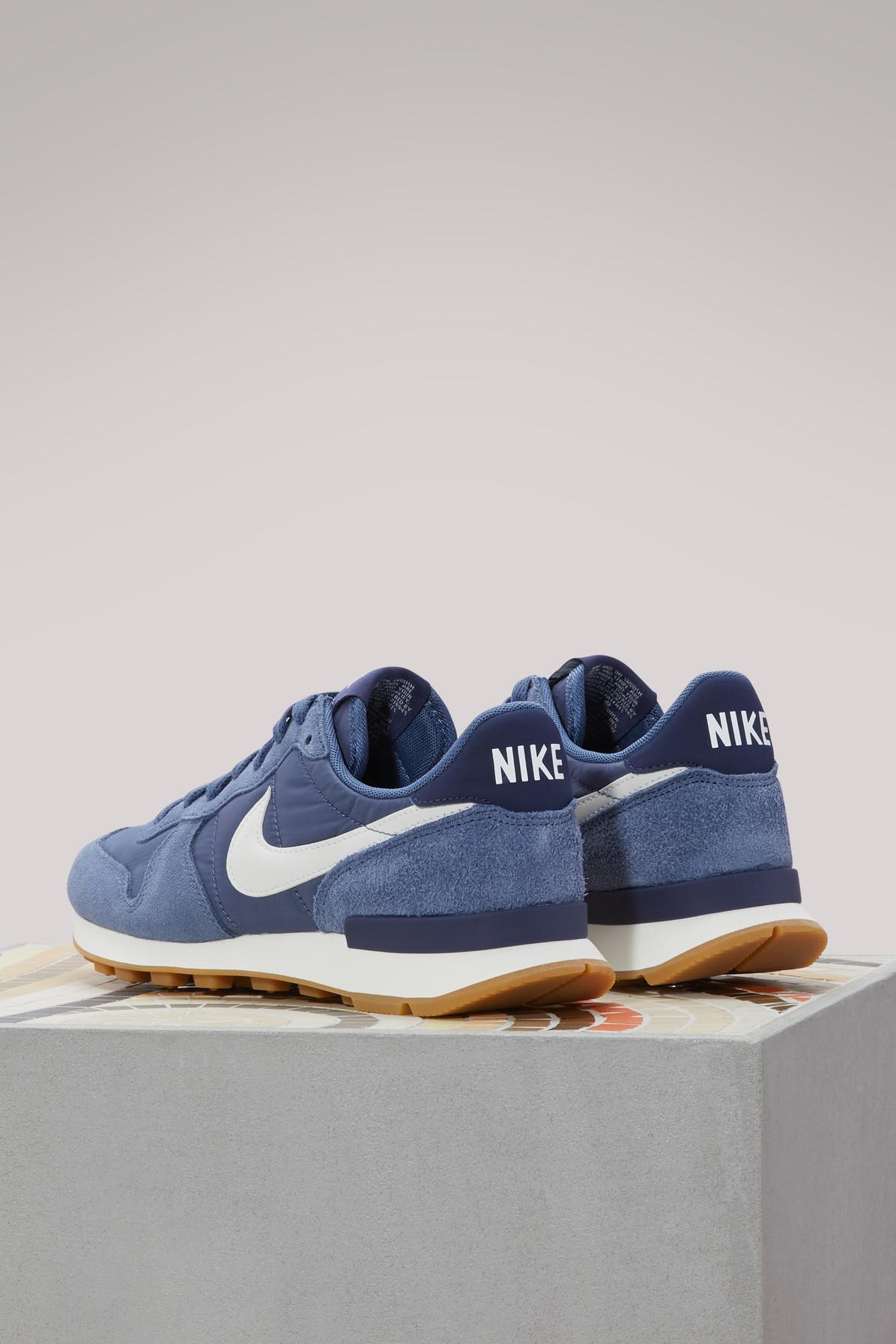 Nike Internationalist Sneakers in Blue - Lyst
